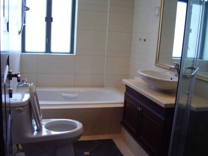 浴室-广州珠江帝景克莱国际公寓出租