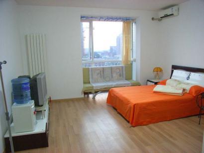 臥室-出租北京海淀知春路城鐵附近精裝修公寓