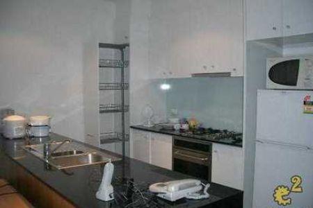欧式厨房-墨尔本市中心独立卫生间主人房招租