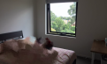 墨尔本 Carlton 墨大对面,全新公寓,副卧出租,大床,拎包入住,限女生