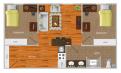 University Tower中校黄金地段4月29日到8月15日出租卧室(1-2人) 赠送家具 $700/月